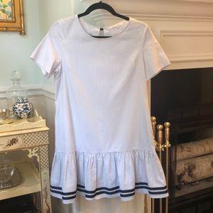 Blue & White Striped Dress
